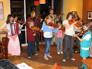 Strings in the Schools at Borders Bookstore Cafe