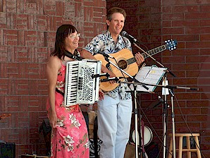 Tom and Mary Kay Aufrance are Gairin Celtic Music