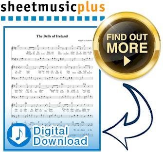Sheet Music Plus for Bells of Ireland