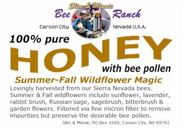 Summer-Fall Wildflower Honey