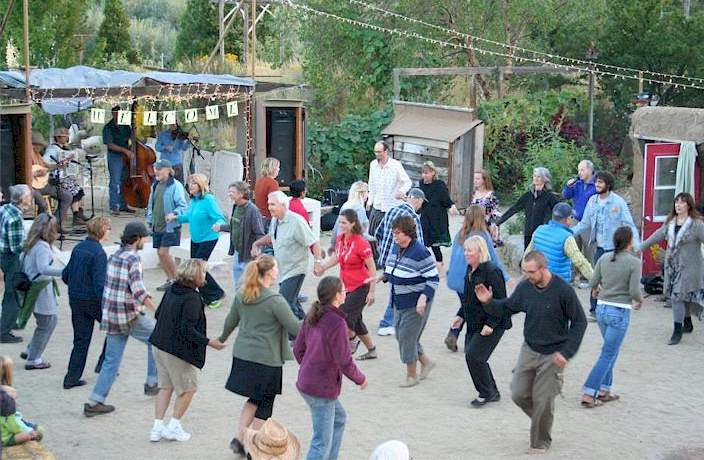 we are playing for the contra dance